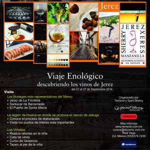 Viaje enológico a Jerez