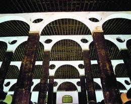 Bodega - pilares y techo